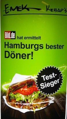 [Lokal Hamburg] Emek Döner Eröffnungsangebot 2,49€ Bild Testsieger