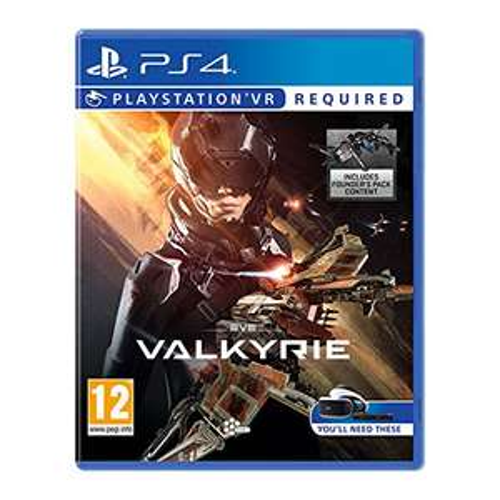 EVE: Valkyrie [PS4 Game bzw. PSVR] (amazon UK)