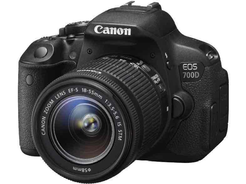 Canon EOS 700D + 18-55IS STM + 25€ Saturn-Gutschein für 449,10 € bei Zahlung mit PayPal vsk-frei @saturn.de