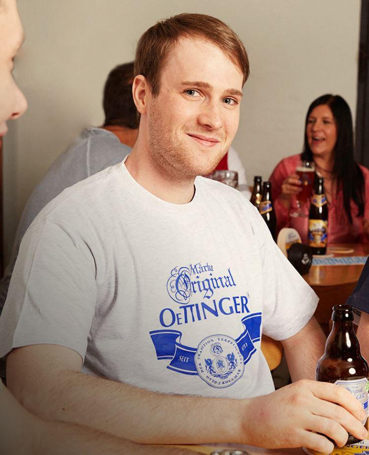 [BIER] Oettinger Brauerei T-Shirt und viele andere Kleidungsstücke