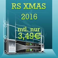 Netcup XMAS Rootserver 3GB RAM 320GB SAS für  effektiv 3,49€ / mtl.