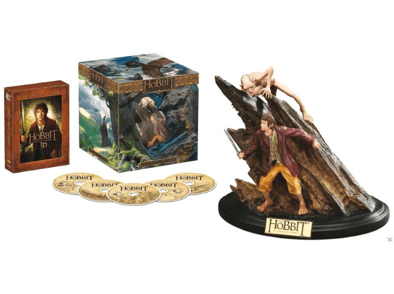 [SATURN] Der Hobbit - Eine unerwartete Reise (Extended Collection Edition) - (3D Blu-ray) mit Figur