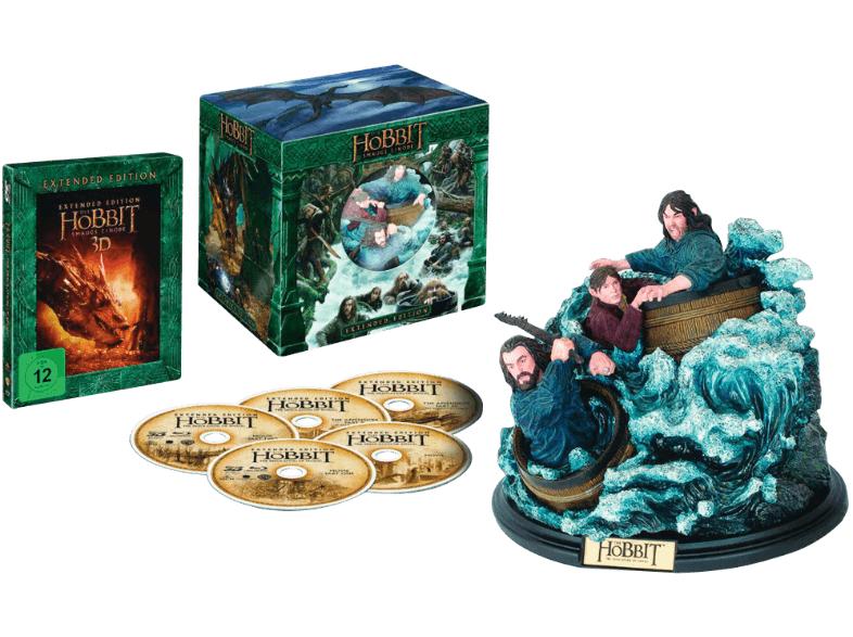 [SATURN] Der Hobbit: Smaugs Einöde (Extended Collection Edition) - (3D Blu-ray) mit Figur