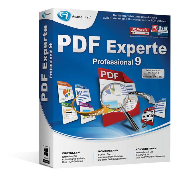 [Heise Adventskalender] Avanquest PDF Experte 9 Professional - Kostenlos