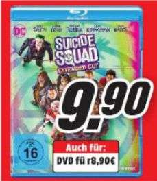 [Lokal Mediamarkt Bremen/Stuhr/Delmenhorst] Suicide Squad inkl. Extended Cut [Blu-ray] für 9,90€