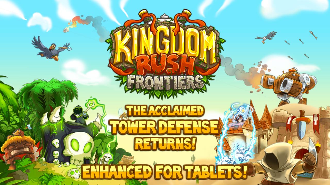 Kingdom Rush Frontiers für Android - DAS Tower Defense Spiel!
