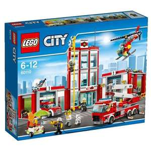 Lego City Große Feuerwehrstation 60110 für 56,44€ inkl. VSK statt 74,82€ [Amazon.fr]