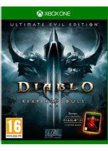 (Base.com) Diablo III: Reaper of Souls – Ultimate Evil Edition (Xbox One) für 16,27€ Inkl. VSK