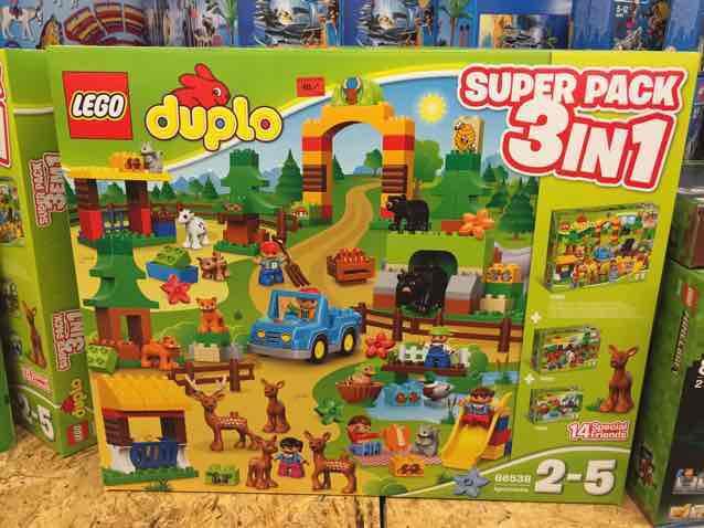 [Bundesweit] Lego Duplo - Wildpark 3 in 1 Super Pack / Metro
