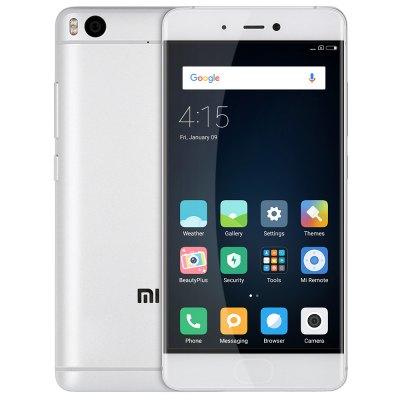 "[Gearbest] Xiaomi Mi5S (5,15"" FHD, Snapdragon 821, 3GB RAM, 64GB UFS 2.0, 12MP + 4MP, 3100mAh, Fingerabdrucksensor, USB Typ-C, Dual Sim, Android 6) in Silber für 265,35€ (kein Band 20)"
