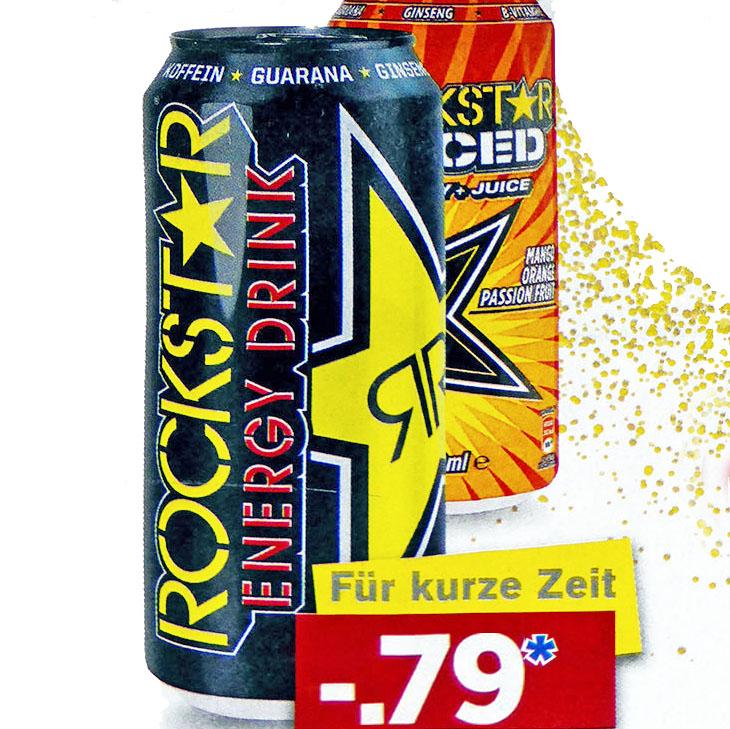 Rockstar Energy Drink nur 79 Cent bei [Lidl]