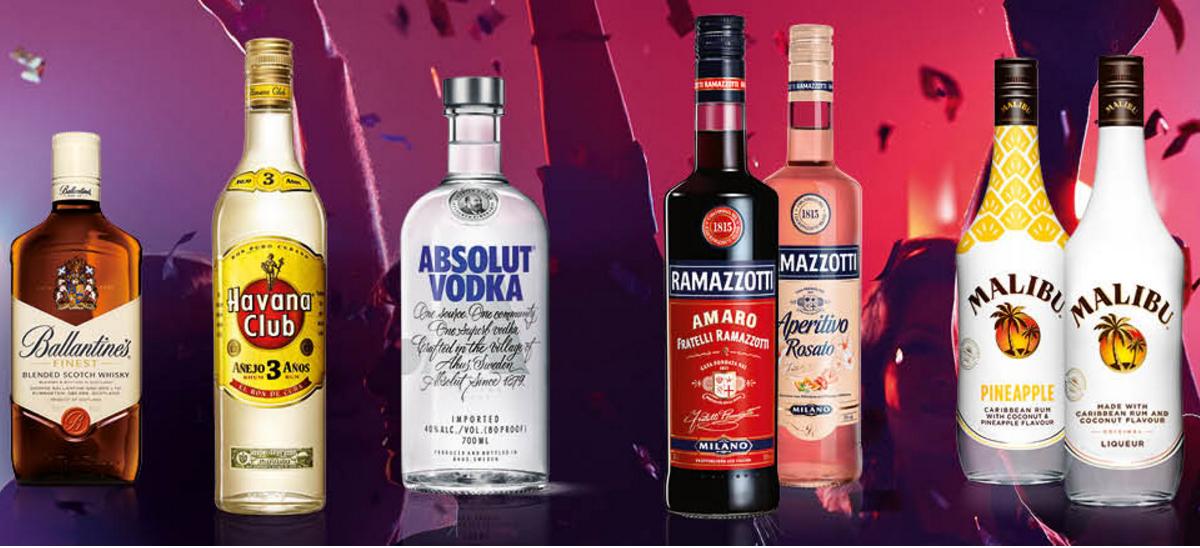 3  Aktionsprodukte von pernod-ricard bei Globus kaufen und eine Stunde kostenlose Haushaltsreinigung bekommen
