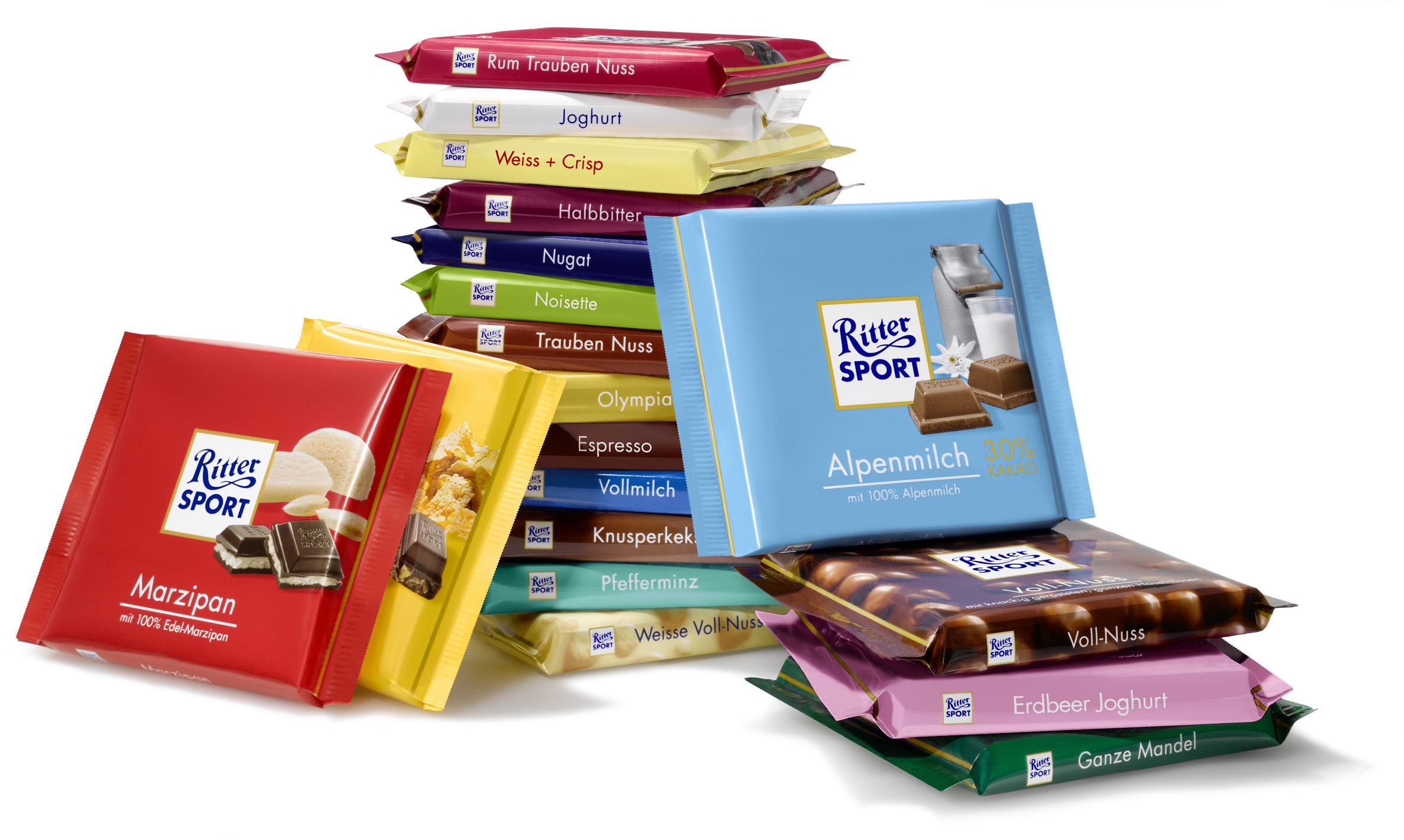 [Kaufland] Ritter Sport Schokolade 100g verschiedene Sorten (Bundesweit)