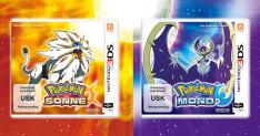 Pokemon Sonne und Pokemon Mond (Nintendo 3DS) für je 33,22€ [Conrad]