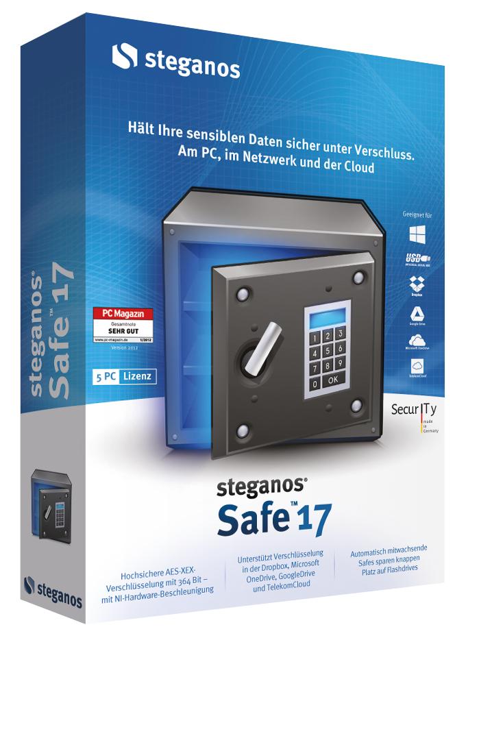 Steganos Safe 17 kostenlos im PC Welt-Adventskalender