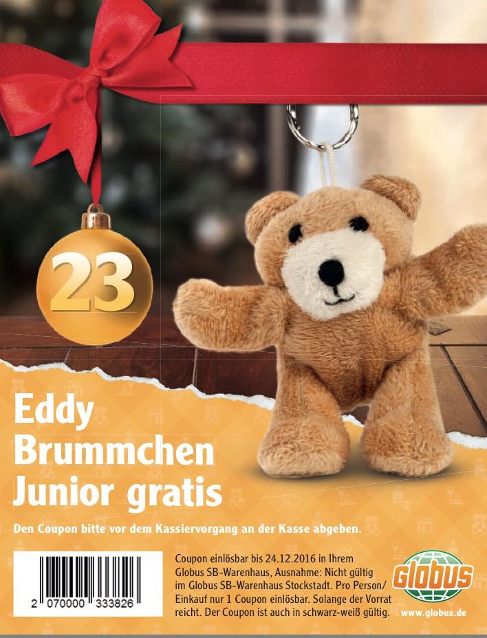 [Globus] Eddy Brummche Junior (Schlüsselanhänger) Gratis