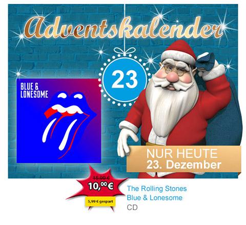 [offline] CD Rolling Stones Blue & Lonesome für 10€ @ Müller