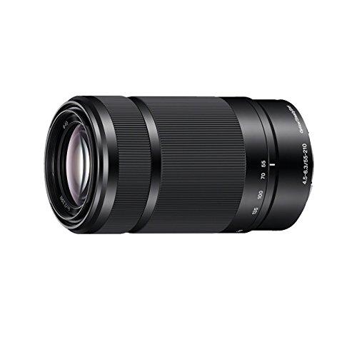 Abgelaufen [Amazon] Sony SEL55210, Tele-Zoom-Objektiv (55-210 mm, F4,5–6,3 OSS, E-Mount APS-C, geeignet für A5000/ A5100/ A6000 Serien& Nex) schwarz