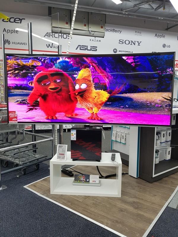 Samsung UE82S9WAQ 21:9 SUHD Premium Fernseher für 15.000.- euro anstatt 21,999 euro. Ersparniss 6,999 euro (Mediamarkt Nordhorn) Versand möglich