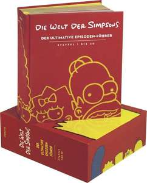 [Thalia] Die Welt der Simpsons - Der ultimative Episoden-Führer für ca. 33 € statt 99 €