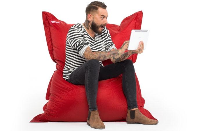ROOMOX Sitzsack alle Farben für 53,10€ im Angebot - 10% auf alles bei ROOMOX