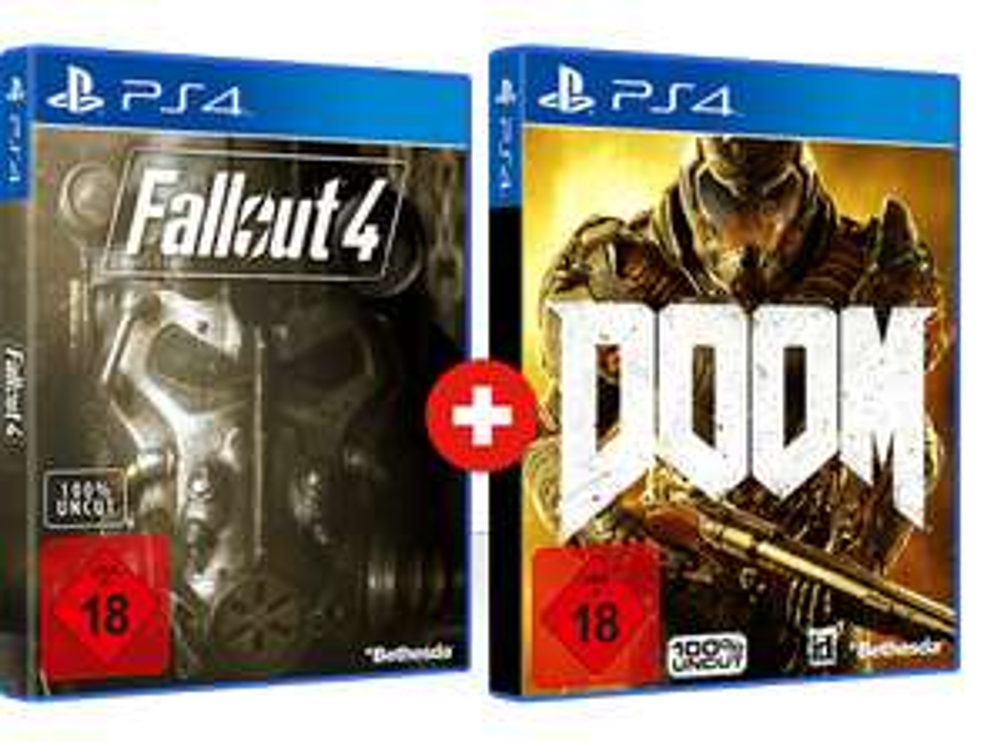 FALLOUT 4 & DOOM (PS4) ZUSAMMEN FÜR 29,99€ BEI GAMESTOP