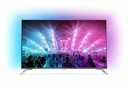 Philips 55PUS7101/12 (55 Zoll) Android 4K-Fernseher (3-seitigem Ambilight und PixelPrecise Ultra HD und HDR light)