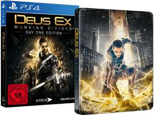 [Saturn] Deus Ex - Mankind Divided (Day One Edition inkl. Steelbook) PS4 & XBOX ONE