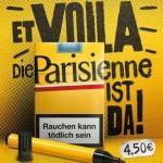 Gratis Schachtel Zigaretten! Parisienne