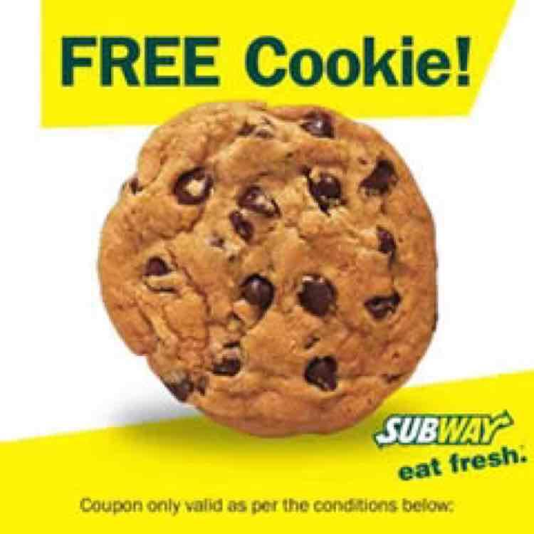Gratis-Cookie bei Subway!