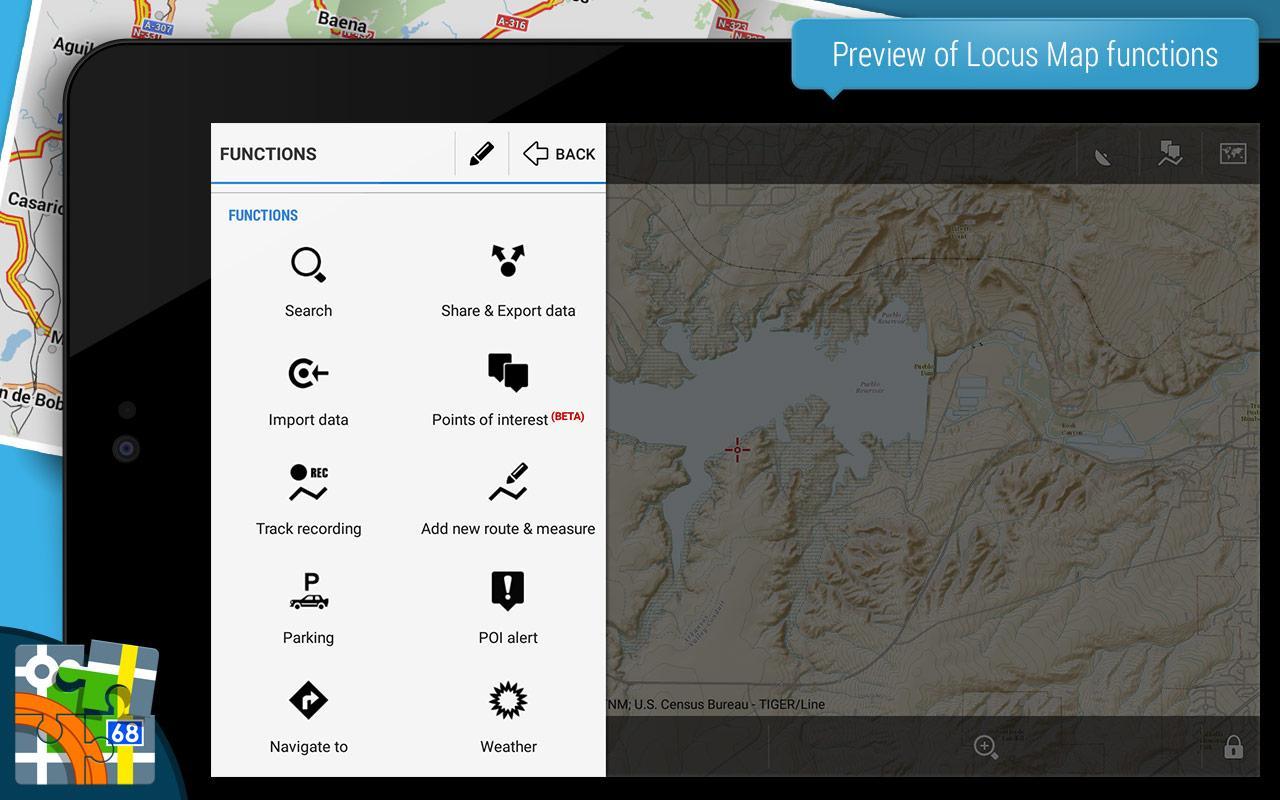 Locus Map Pro - Outdoor GPS für 4,25€ bei Google Play (50% Rabatt)