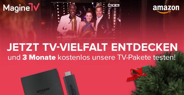 MagineTV 3 Monate kostenlos auf dem Fire TV von Amazon
