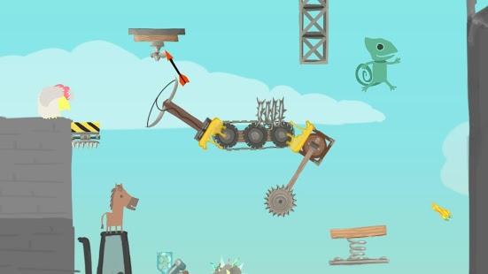 Ultimate Chicken Horse zum halben Preis - Absolut geiles Lokal Multiplayer Spiel für den nVidia Shield TV