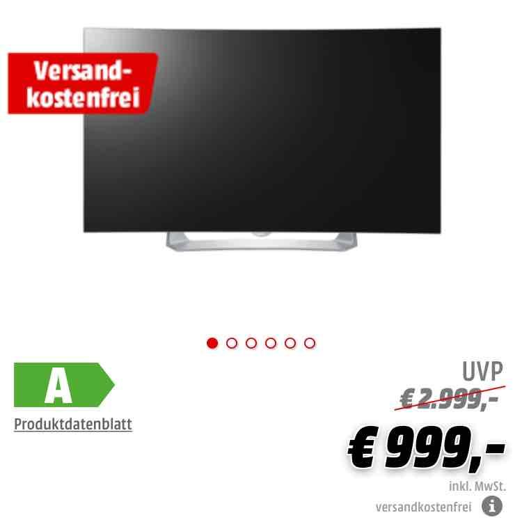 MM Online weiterhin erhältlich LG 55EG910V Curved Full-HD OLED TV, Online, VSK-Frei