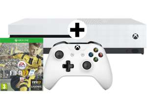 "Xbox One S 500GB + Fifa 17 oder Minecraft Favorites Pack für 198,50€ oder 1TB ""Limited Edition"" (military green) inkl. Battlefield 1 für 248,50€ [jeweils inkl. Versand nach DE] [Mediamarkt.at]"
