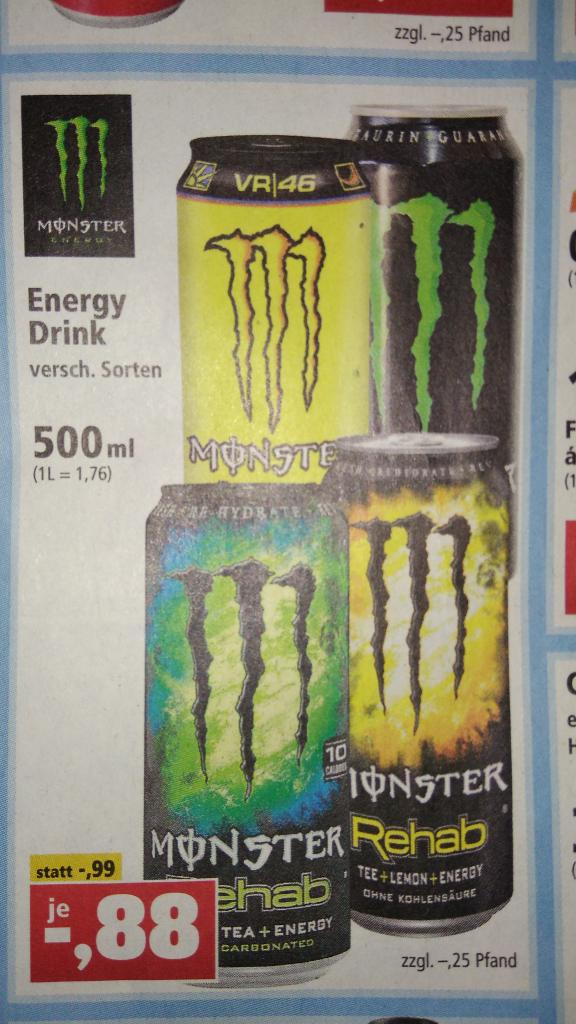 [Thomas Philipps] Monster Energy Drink 0.88 €