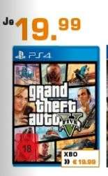 [Lokal Saturn Berlin/Potsdam] Grand Theft Auto 5 /GTA5 (Playstation 4 und Xbox One) für je 19,99€