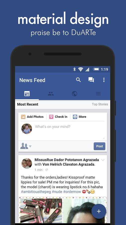 [Android] Swipe Pro - Alternative Facebook App 50% Rabatt