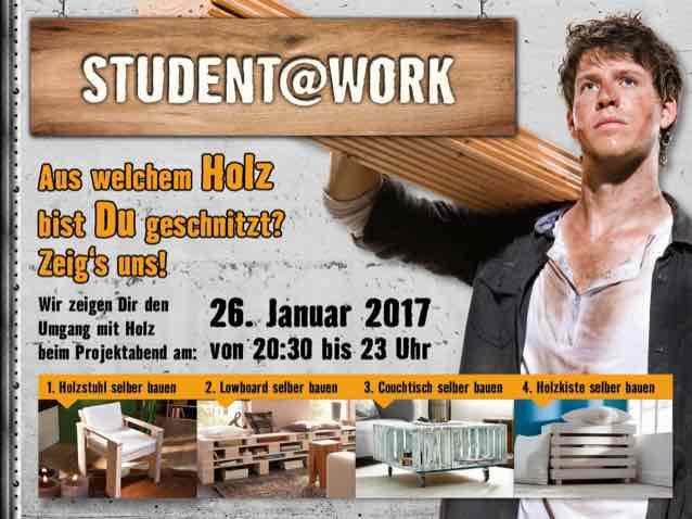 (lokal) Lüneburg - Kurs - Möbel bauen lernen