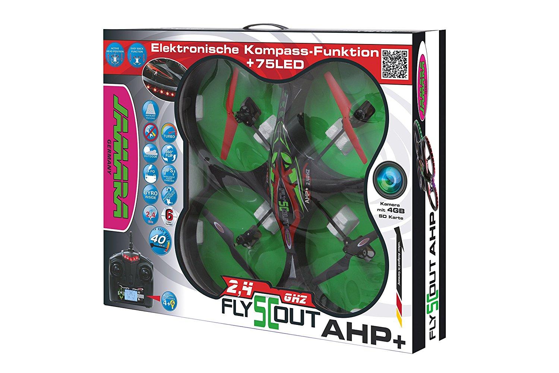 [AMAZON.DE] 72 cm Quadrocopter mit HD-cam und 75 LED`s   PVG: 120€