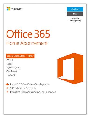 Office 365 Home zum Sonderpreis bei Amazon 40€ günstiger als UVP/20€ günstiger als Versandversion