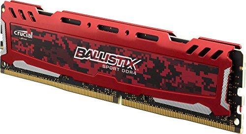 Ballistix Sport LT 8GB Single DDR4 2400 MT/s (PC4-19200) DIMM 288-Pin Memory - BLS8G4D240FSE für 39,90 € @Amazon