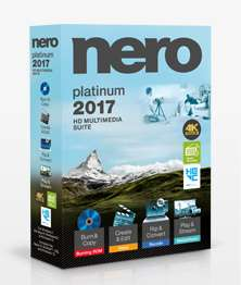 "[Online] Nero Platinum 2017 in der ""Happy Hour"" 45€ billiger"
