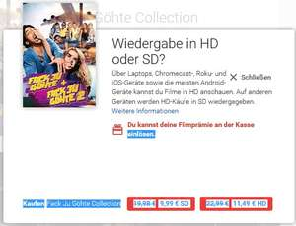 [GOOGLE PLAY STORE] Fack Ju Göhte Collection HD