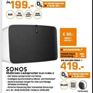 Sonos Play 5 (2.Gen) lokal Saturn Berlin