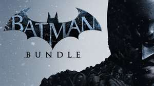[Batman Bundle] Arkham Asylum + Arkham City + Arkham Origins + DLC für 8,99€ [Bundle Stars] [Steam]