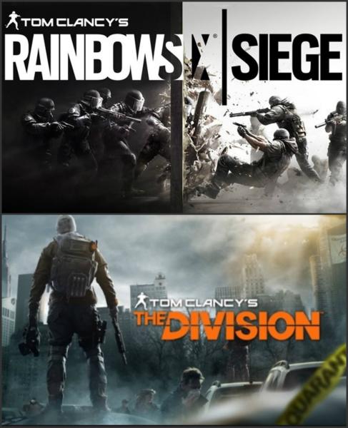PS4 Rainbow Six Siege 19,99€ + The Division zusammen 39,99€
