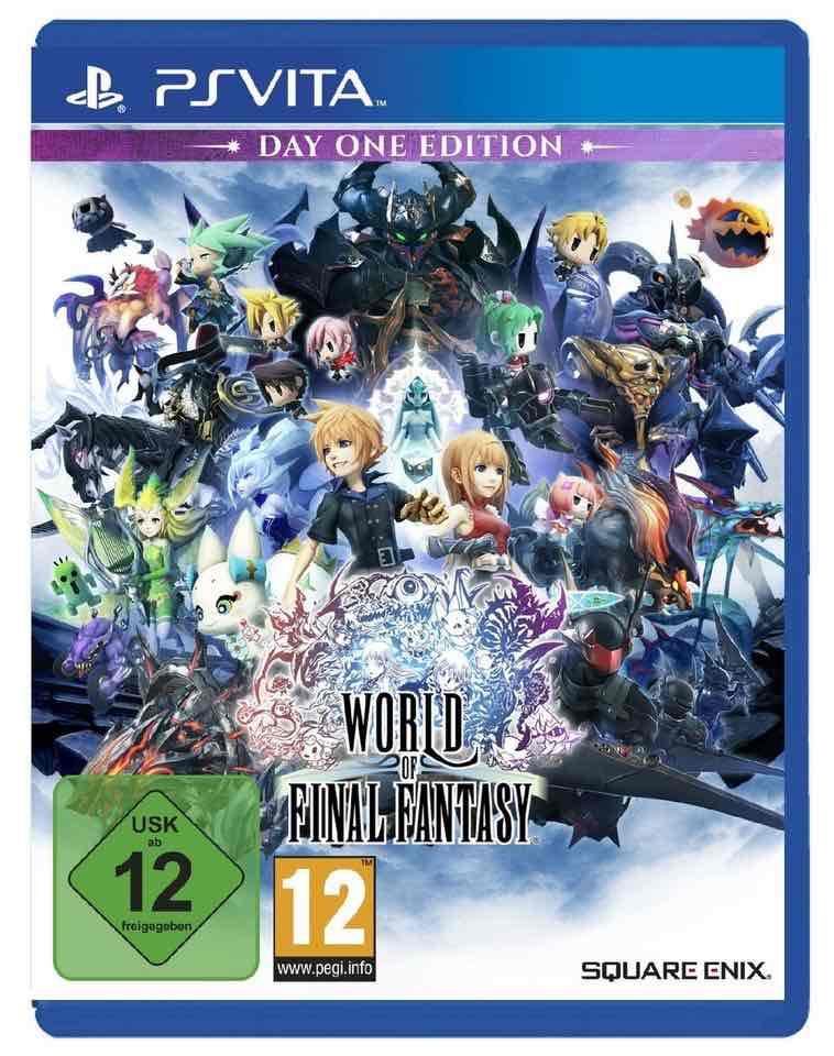 World of Final Fantasy D1 Edition - PS Vita [digitalo.de]
