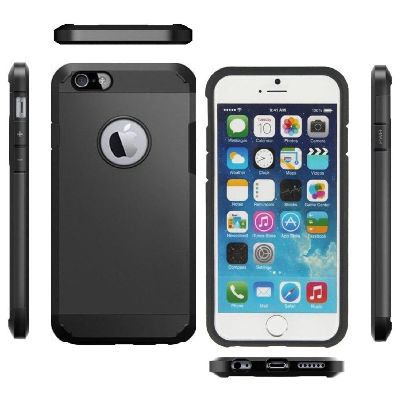 Handyhüllen Armor Case iPhone 4/4s/5c/5/5s/5se/6/6s/6Plus/6sPlus/7/7Plus 3 Stück für 6,97€ (1x 2,32€) statt 26,97€ [Amazon Prime] Gutscheinfehler 20€ statt 20%