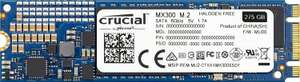 Internes Crucial MX300 Solid-State-Drive 275GB M.2